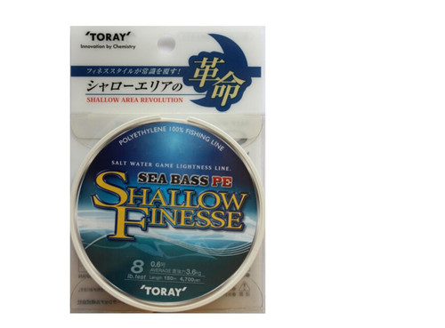 Toray Sea Bass Raging Water Nylon 150m 14LB 6KG