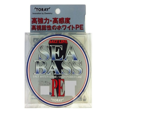 Toray Saltline Sea Bass 150M 30LB 13KG PE 2.5
