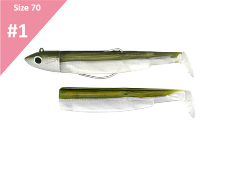 Fiiish Black Minnow Off Shore Combo 70 Kaki 6g BM035