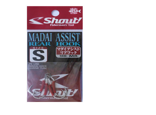Shout Madai Assist Hooks Small