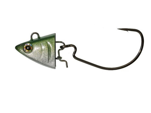 Nitro Sprat Shad Jig Head 120 35g Clear Ayu