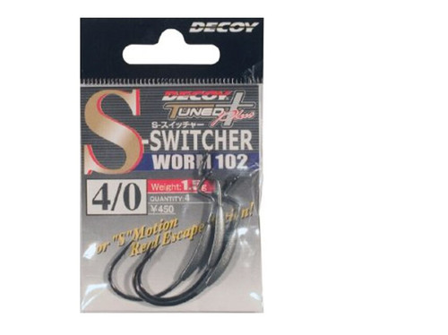 Decoy Switcher Worm Hook #812174 1.5g 4/0