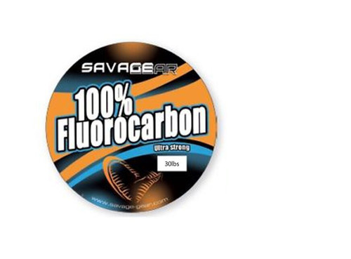 Savage Gear Fluorocarbon Lure Leader 35m 30lb