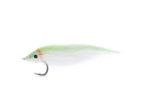Fly Dropper #4 Chartreuse White