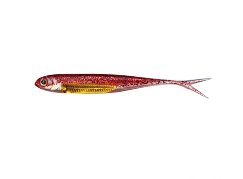 Fish Arrow Flash J Split SW 5 Inch #116 Red Gold
