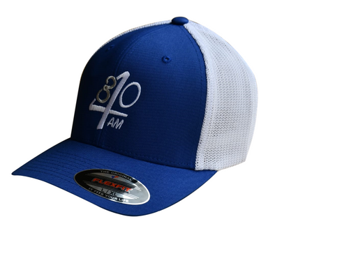 430AM Gear Flexfit Trucker Royal Blue & White