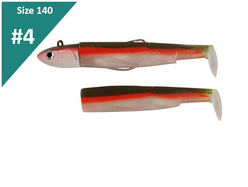 Fiiish Black Minnow Deep Combo 120 Green Candy 60g BM787