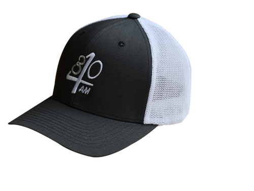 430AM Gear Flexfit Trucker Charcoal & White