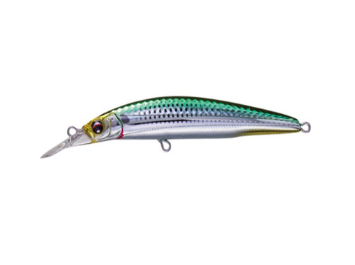 Duel Hardcore Minnow 70 Green Silver 6g