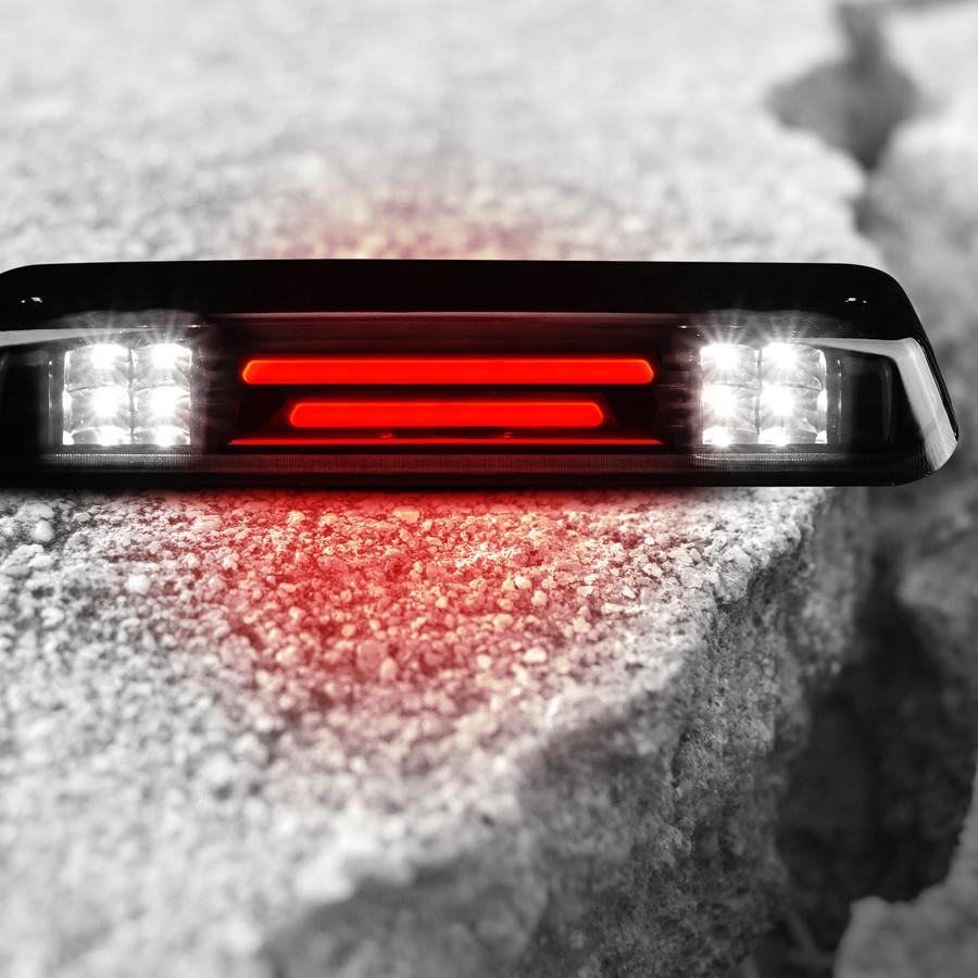 2004-2008 Ford F150 LED 3rd Brake Light w/Smoked Housing Explorer Cargo Light Upgrade –Runner Series - Cree XM LED