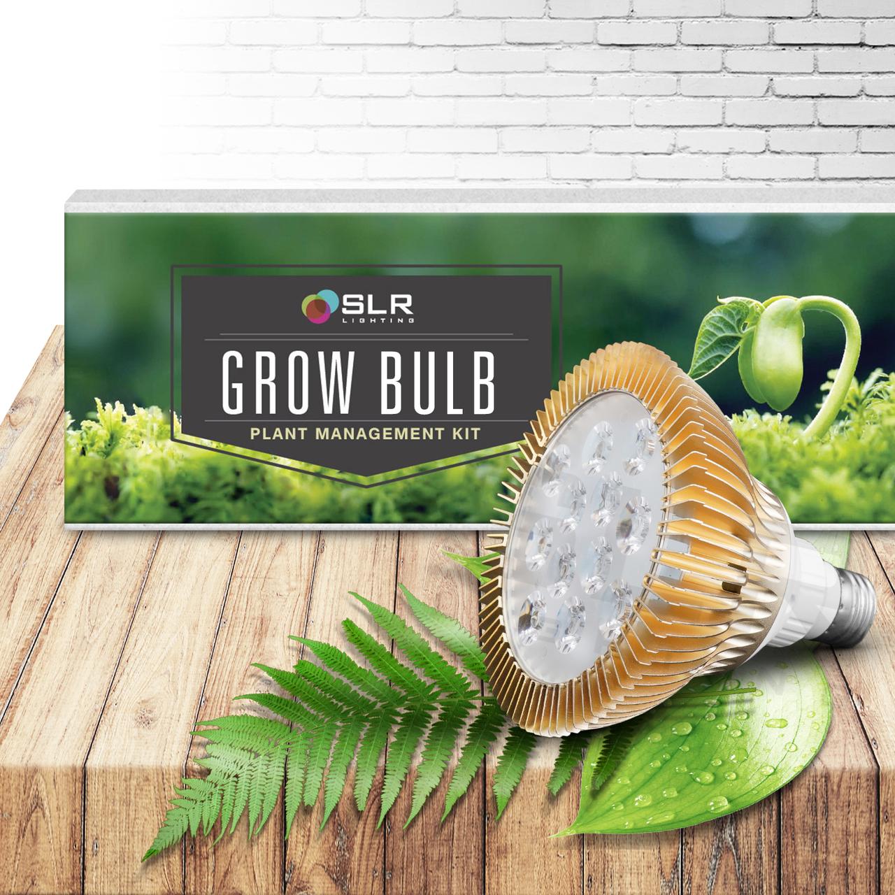 BioGlow LED Plant Grow Light Bulb