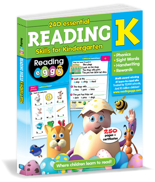 200 Essential Reading Skills for Kindergarten