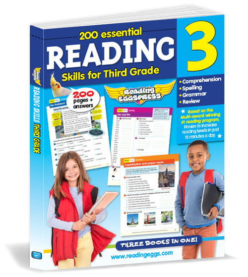 200 Essential Reading Skills for Third Grade