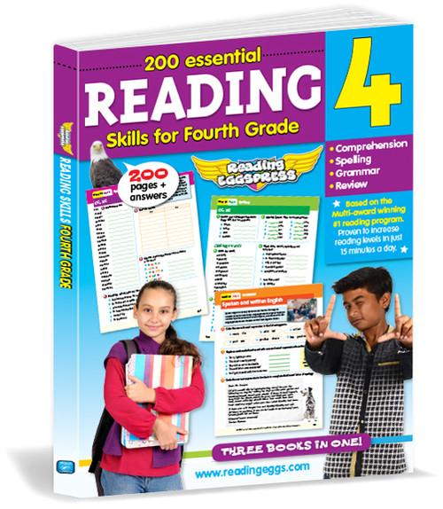 200 Essential Reading Skills for Fourth Grade