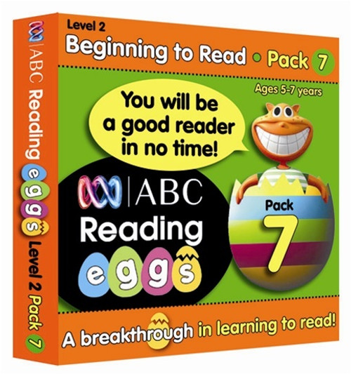 Reading Eggs - Beginning to Read - Book Pack 7