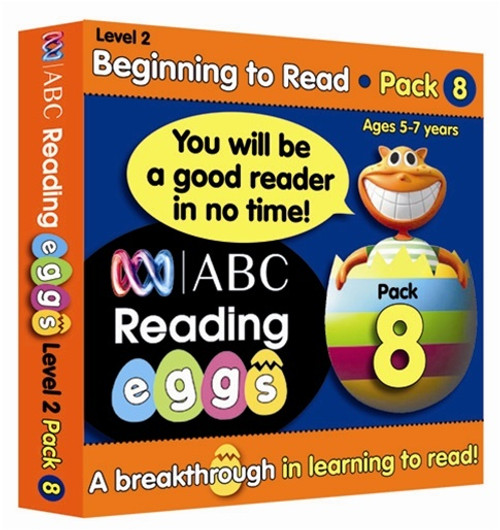 Reading Eggs - Beginning to Read - Book Pack 8 (Sold Out)