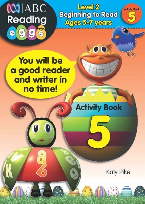 Reading Eggs - Beginning to Read - Activity Book 5