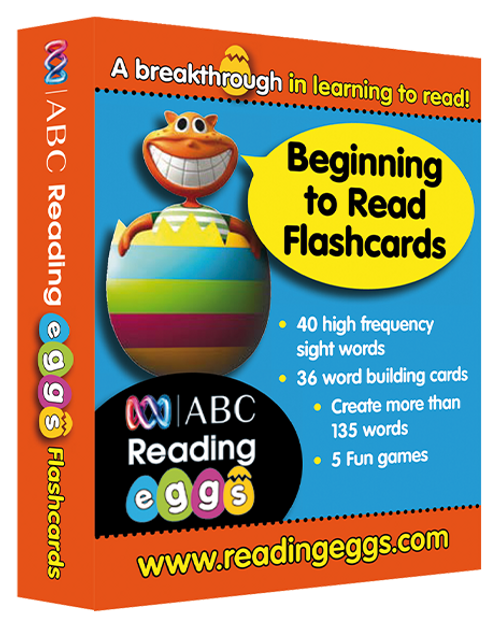 Reading Eggs - Beginning to Read - Flashcards