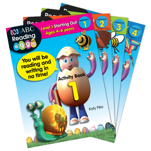 Reading Eggs -Level 1: Starting Out - Activity Book Set
