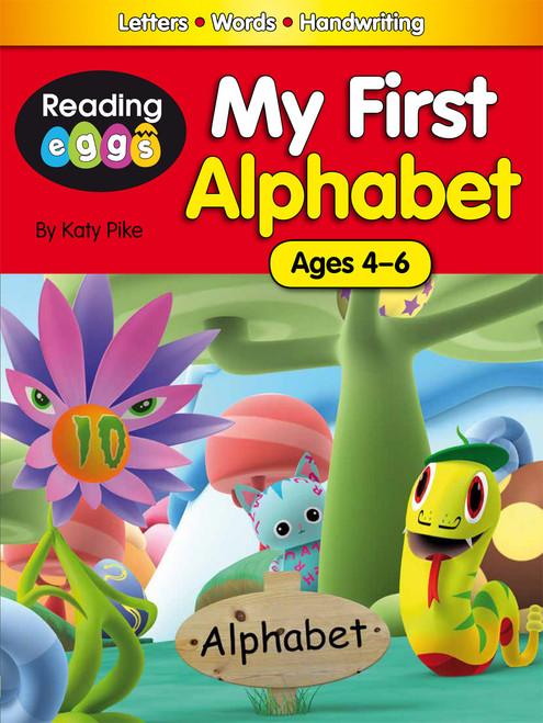 My First Alphabet eBook - Cover