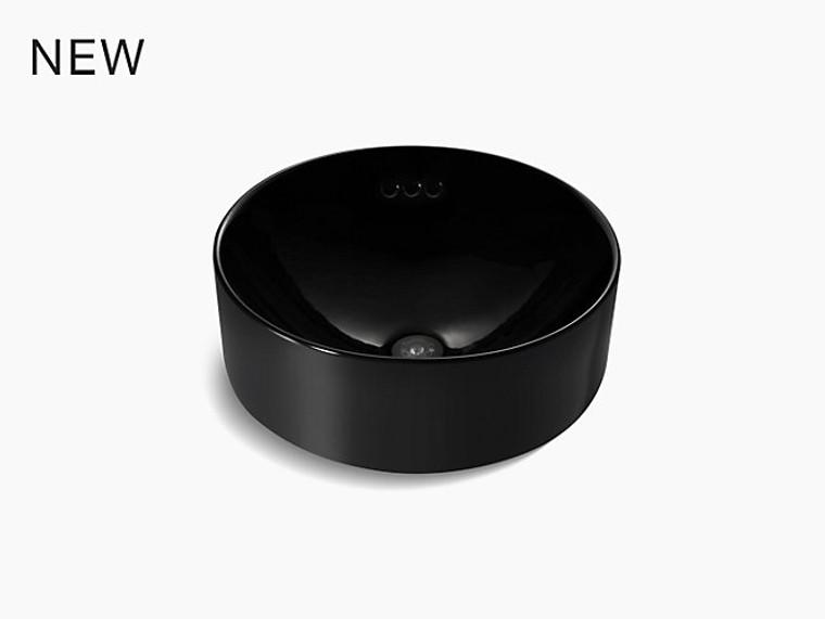 <預購中>Chalice 圓形台上盤 (420 毫米) (亮黑色)