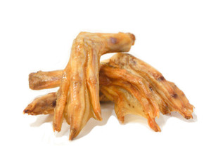Dehydrated Duck Feet with Glucosamine and Chondritin