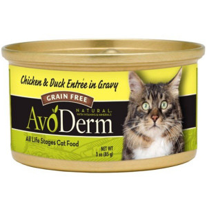 AvoDerm Grain Free Chicken & Duck in Gravy Wet Cat Food (3 0Z)