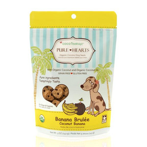 CocoTherapy Pure Hearts Coconut Cookies Banana Brulee
