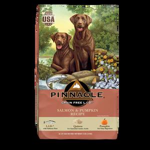 PINNACLE GRAIN FREE SALMON & PUMPKIN DRY DOG FOOD (4 LB)