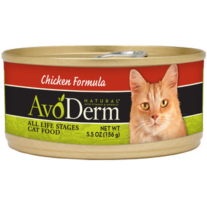 AvoDerm Grain Free Chicken Formula Wet Cat Food (5.5 0Z)