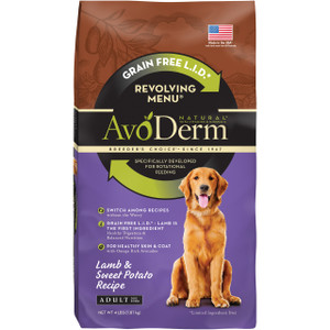 Avoderm Grain Free Limited Ingredients Revolving Menu Lamb & Sweet Potato (4 LB)