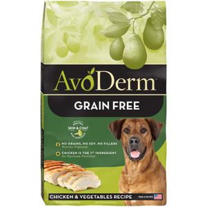 AvoDerm Grain Free Chicken & Vegetables (24 LB)