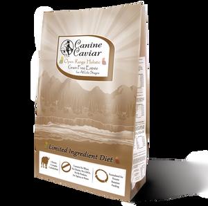 Canine Caviar Buffalo Holistic Grain Free Entrée for All Life Stages (22 lbs)
