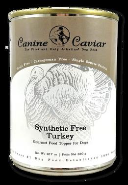 Canine Caviar Synthetic Free Turkey, 100% Hypoallergenic, Limited Ingredient Diet, Single Protein Method, Gluten & Grain Free, Low Sodium Diet