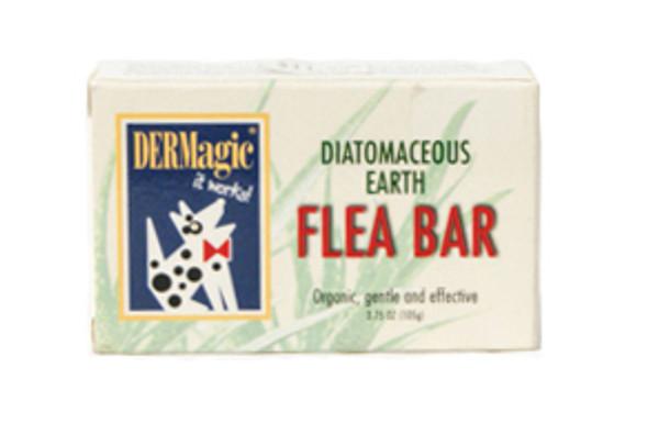 DERMagic Diatomaceous Earth Flea Shampoo Bar
