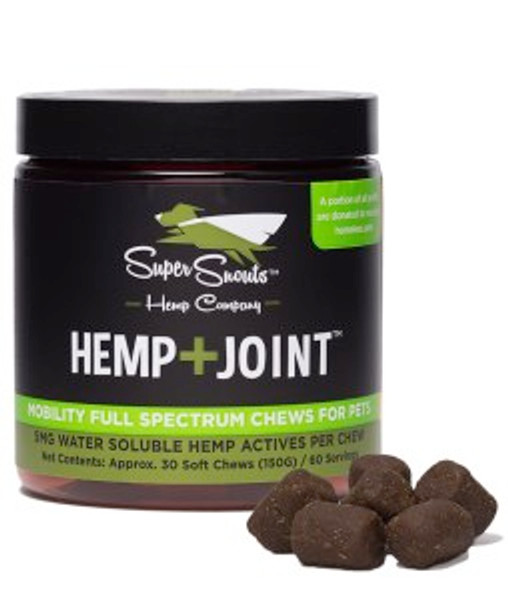 Super Snouts Hemp+Joint  Functional Soft Chews (THC Free)