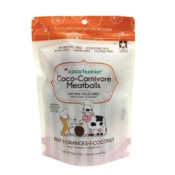CocoTherapy Coco-Carnivore Beef, Orange & Coconut Meatballs