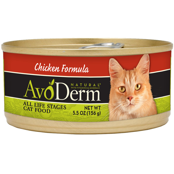 AvoDerm Grain Free Chicken Formula Wet Cat Food (5.5 0Z)