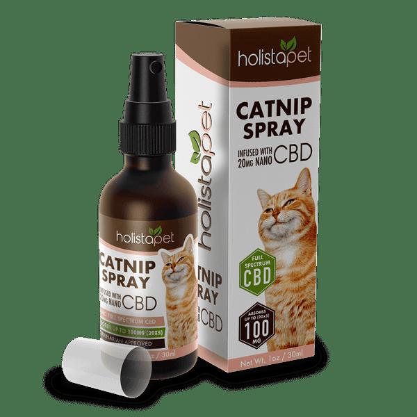 Catnip Spray with CBD – 1oz Bottle