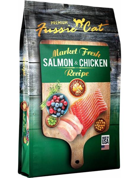 Fussie Cat Market Fresh Salmon & Chicken Grain Free