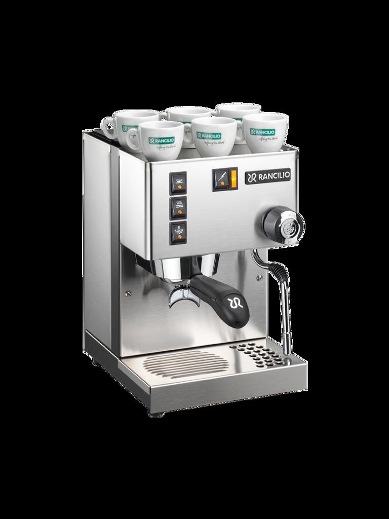Buy The Rancilio Silvia Espresso Machine For a  Premier Entry Level Machine For Home Espresso Lovers