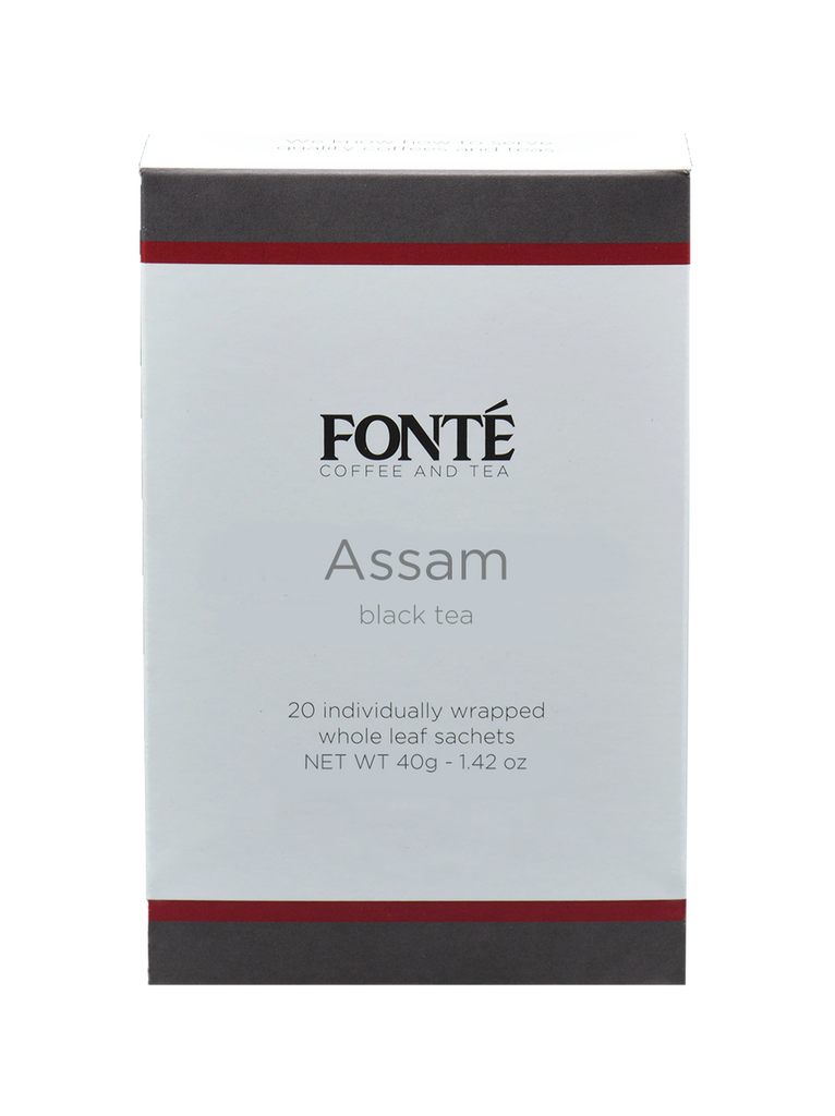 Buy Fonte Assam Specialty Black Tea Available for Weekly, Biweekly, Monthly or Bimonthly Subscriptions