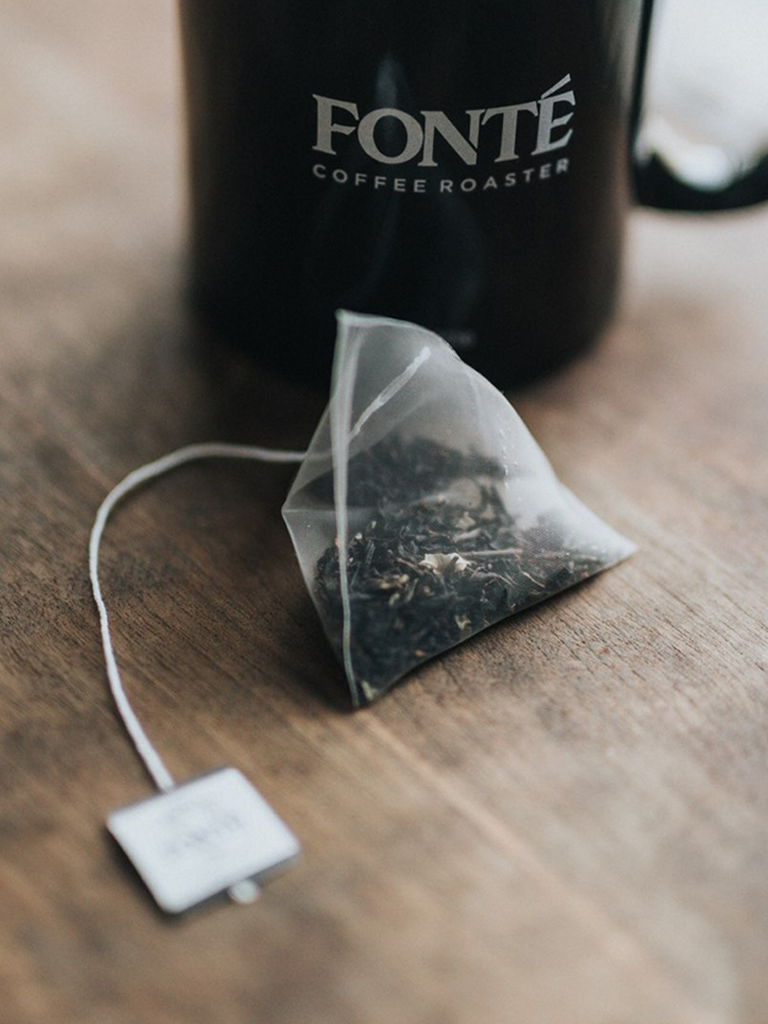 Individually Wrapped Biodegradable Black Currant Tea With Ceylon, Bergamont, and Citrus Aromas