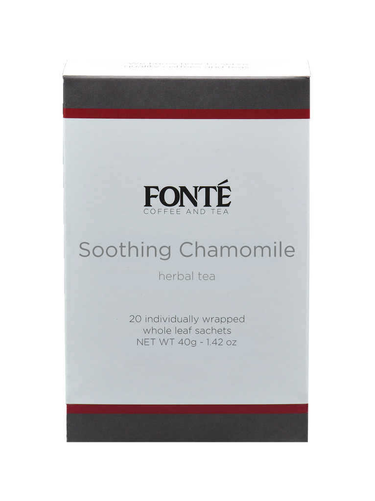 Buy Fonte Soothing Chamomile Specialty Herbal Tea Available for Weekly, Biweekly, Monthly or Bimonthly Subscriptions