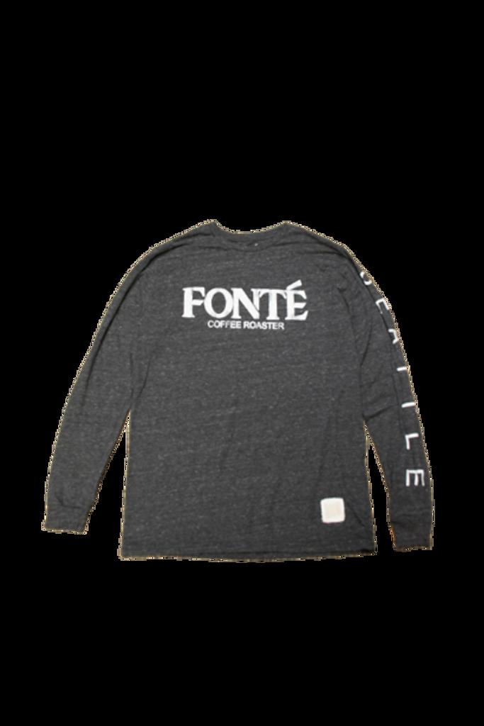Fonte Coffee Roaster Long Sleeve Tshirt