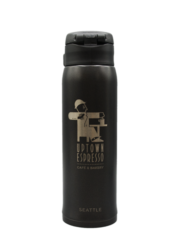 Uptown Espresso Thermos, 16oz, Fonte Coffee Roaster