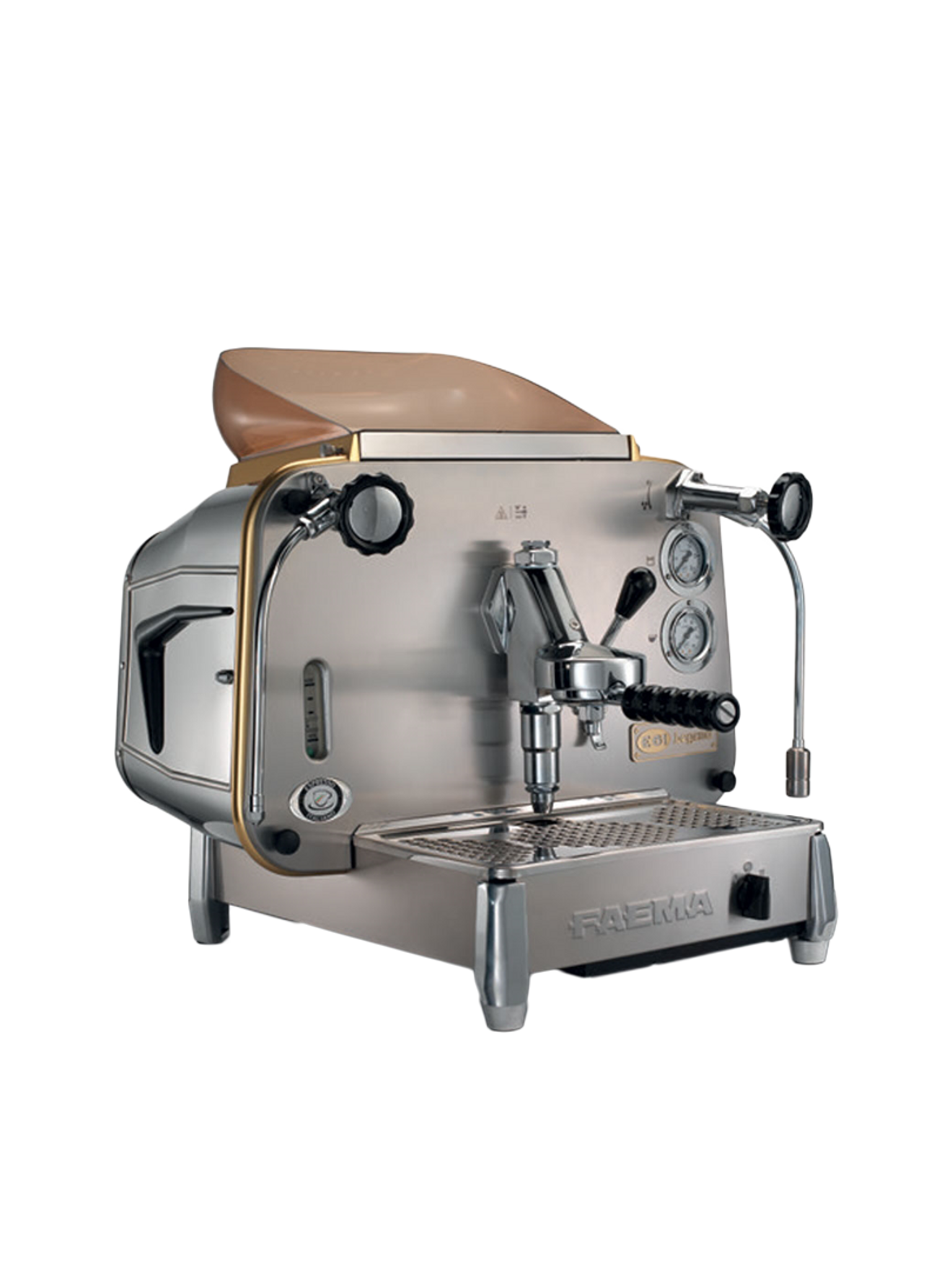 Buy Faema E61 Produces 7 grams of Coffee Grounds in Less Than Two Seconds From Thermo Syphon System and Thermal Balancing System