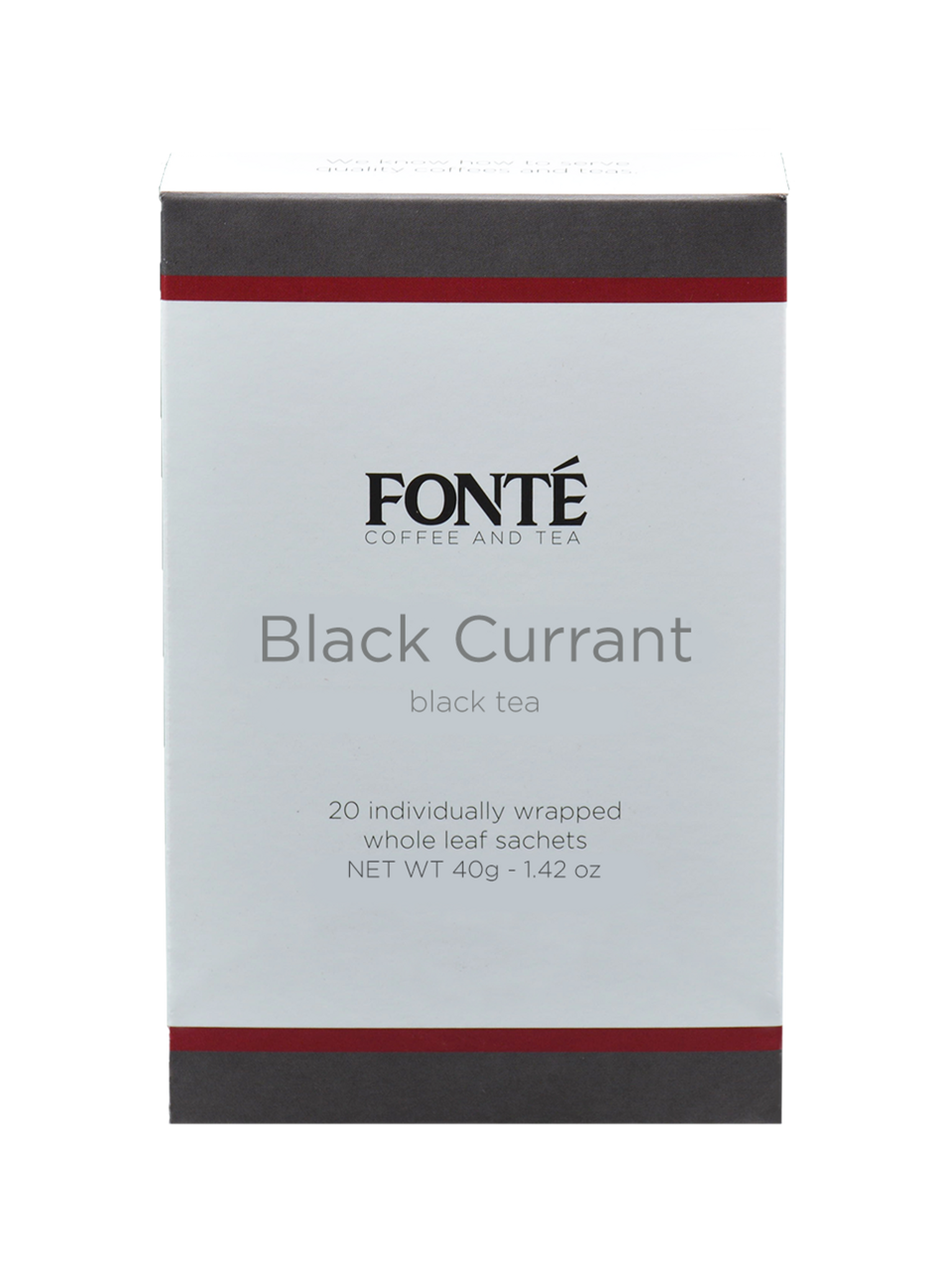 Buy Fonte Black Currant Specialty Black Tea Available for Weekly, Biweekly, Monthly or Bimonthly Subscriptions