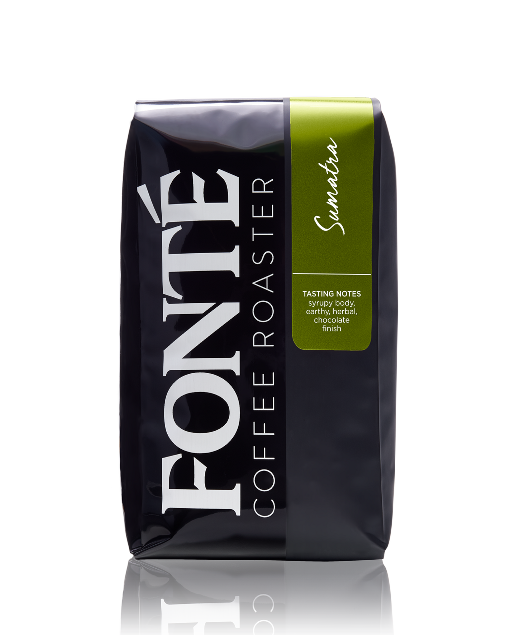Buy Fonte Sumatra Single Origin  Available as Whole Bean, French Press, Drip, Melitta, Home Espresso, Commercial Espresso, and Turkish Coffee