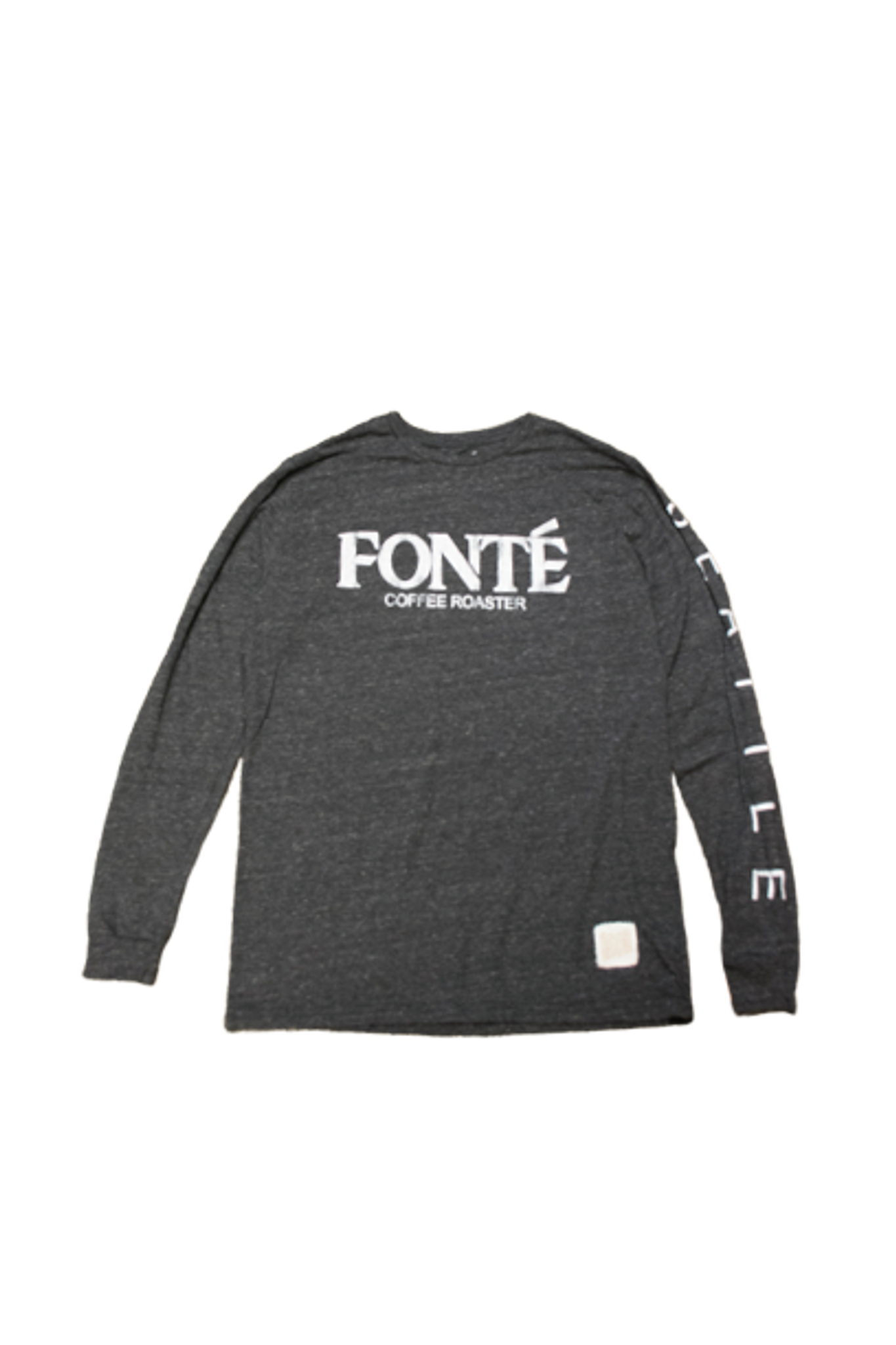 Fonte Coffee Roaster Long Sleeve Tshirt